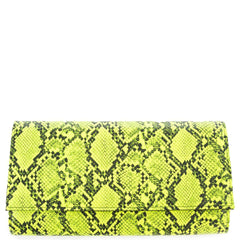 Snake Basic Fold-Down Clutch