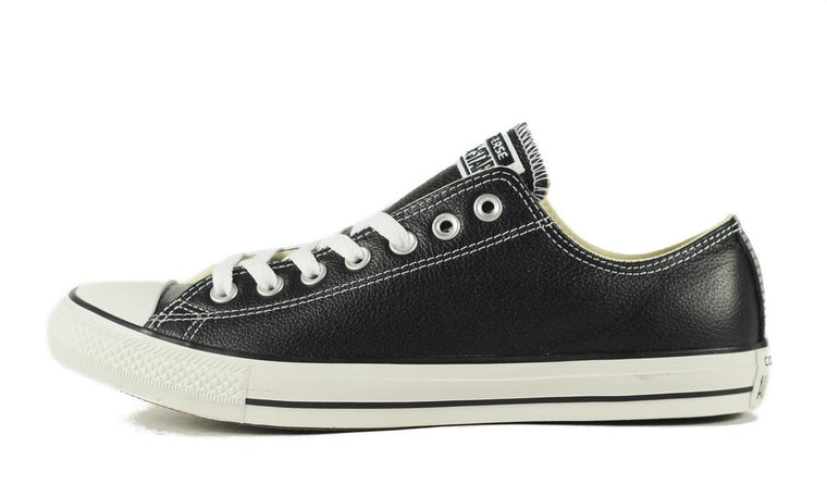 Converse: CT Leather Ox Black Sneaker