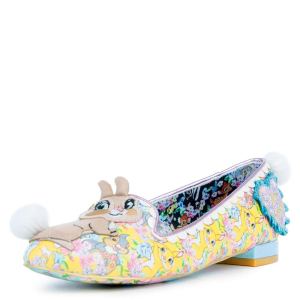 Disney's Bambi x Irregular Choice Sweet As Can Be Flats