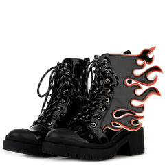 BURNING HOT COMBAT BOOT