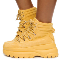Bel-11 Lace Up Boots
