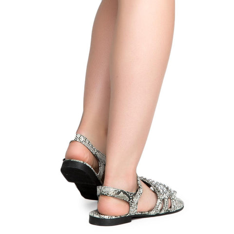 Cape Robbin Cash-4 Women's Snake Sandals