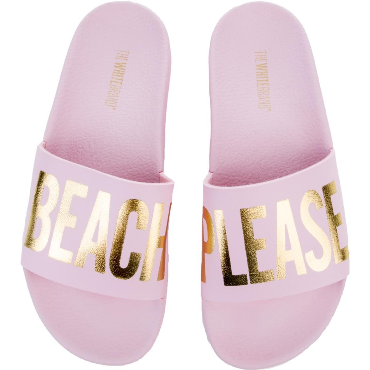 Women's Beach Please Slides in Pink
