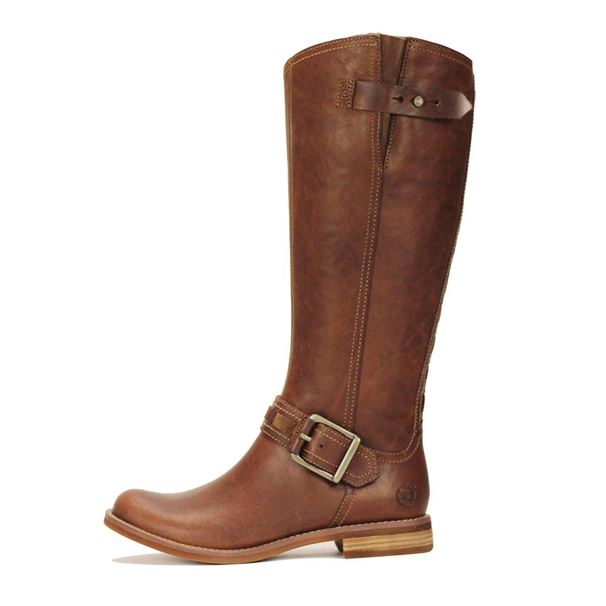 Looks - Tall Timberland boots for women video