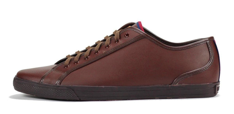 Ben Sherman for Men: Breckon Dark Brown Sneaker