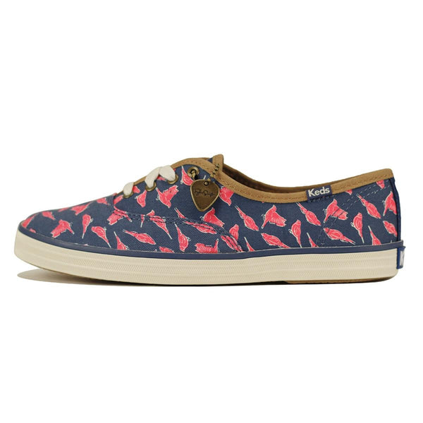 Keds for Women: Taylor Swift Collection Champ Finches Blue Sneakers