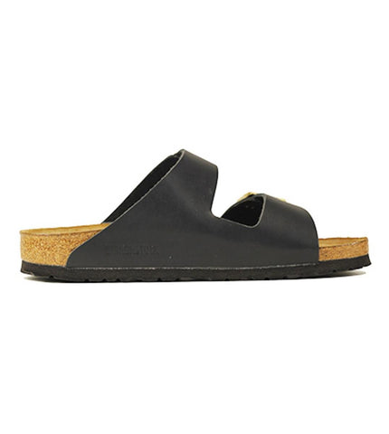 Birkenstock for Women: Narrow Arizona Soft Footbed Hunter Black Sandals