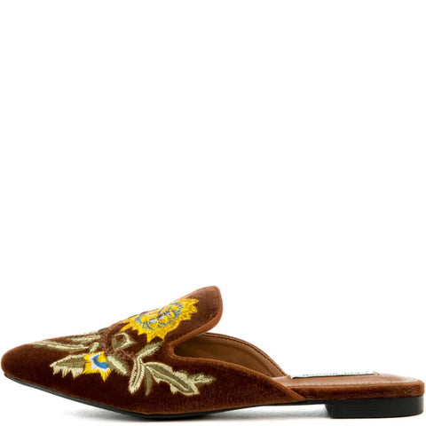 Cape Robbin Cell-17 Women's Brown Mules