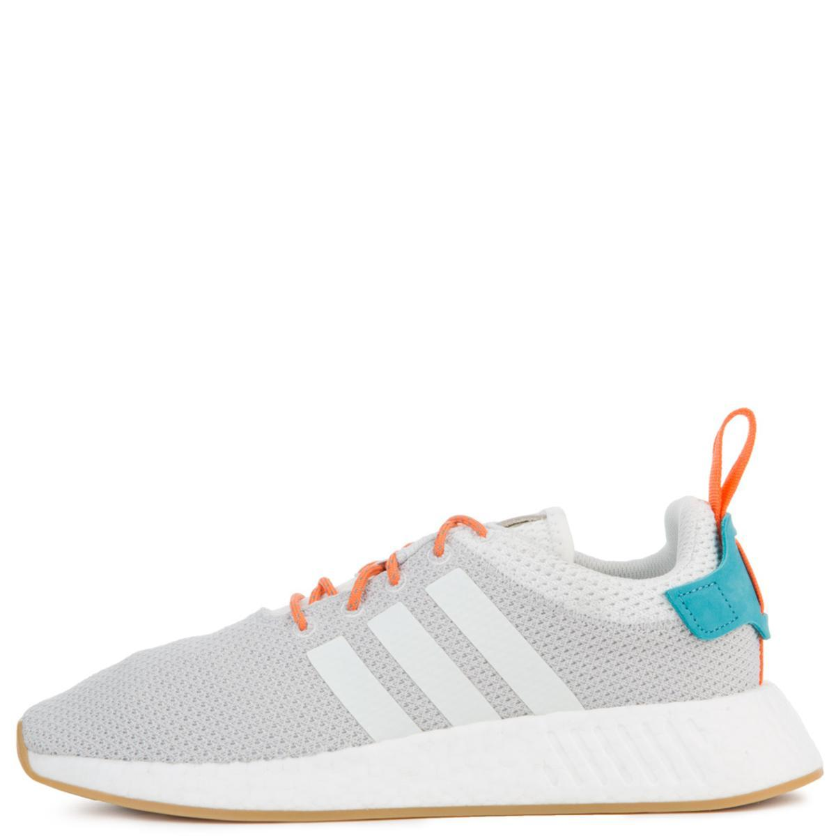 The Nmd R2 Summer In White Grey And Gum3