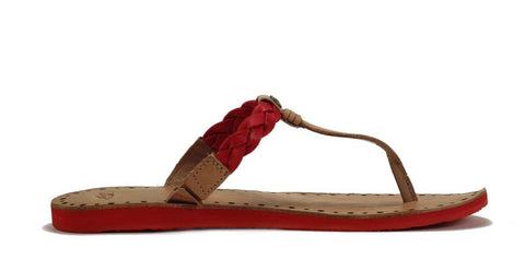 UGG Australia for Women: Womens Bria Red Sandal