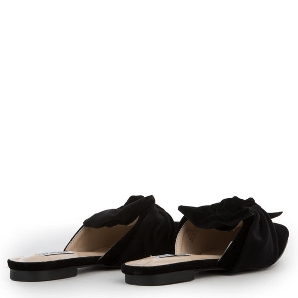 Cape Robbin Fine-8 Women's Black Mule