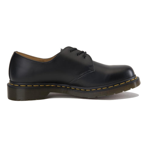 "Dr. Martens for Women: 1461 Black ""Smooth"" Oxfords"