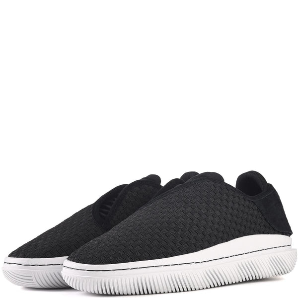 Clear Weather Unisex: Convx in Black Sneakers