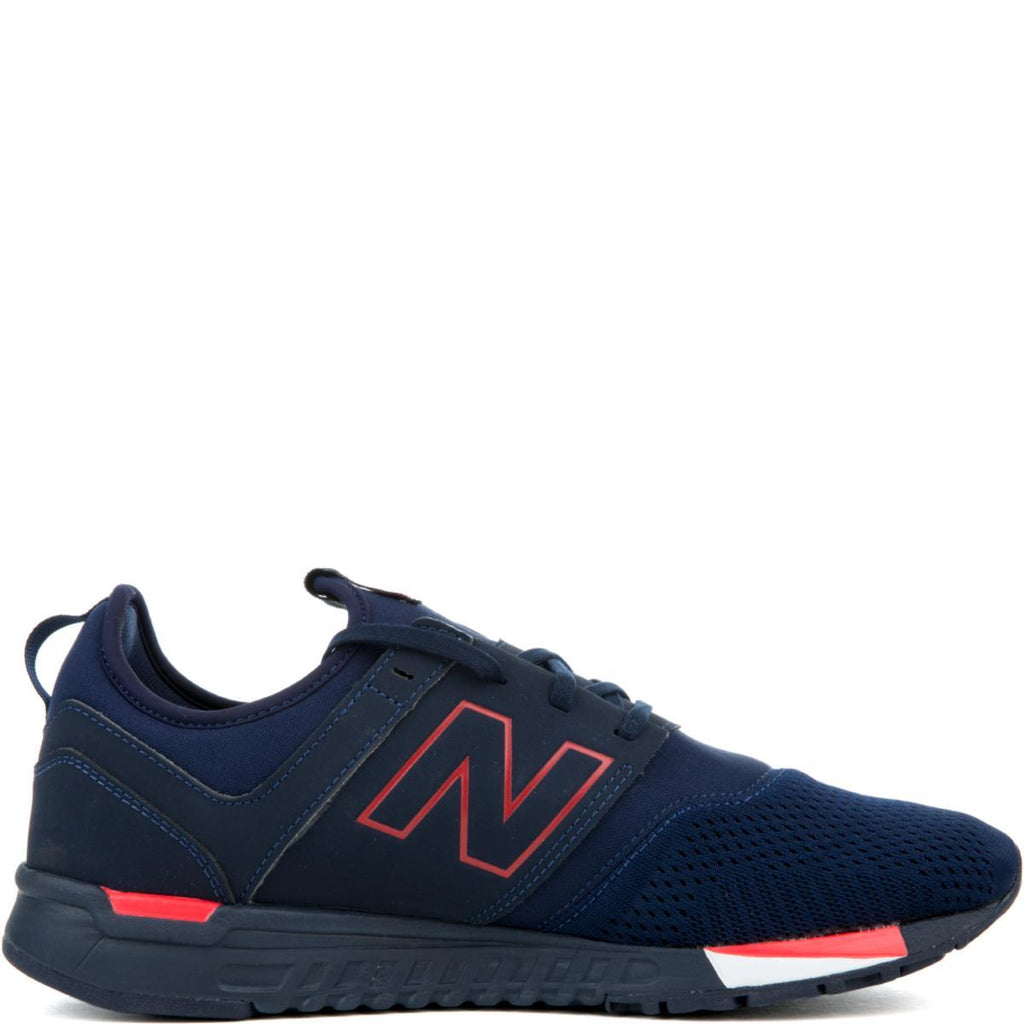 14ba5698a0be7 New Balance 247 Classic Navy with Red Men's Sneaker