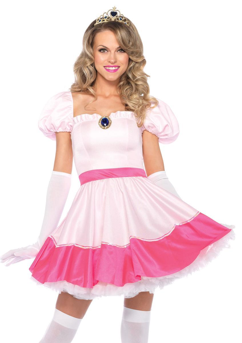 3Pc. Princess Off The Shoulder Dress, Tiea And Gloves