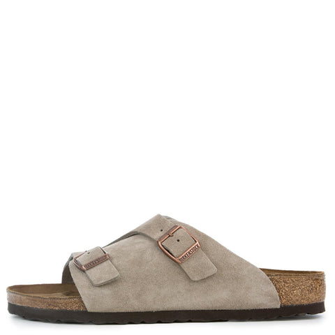 Birkenstock for Men: Zurich Regular Taupe Sandals