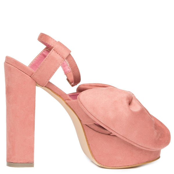 Privileged by J.C. Dossier for Women: Josie Pink Platform Heels