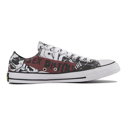 Converse Unisex: Chuck Taylor All Star Sex Pistols White Sneakers