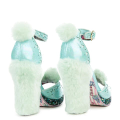 Women's Teddy Toes Mint Heel