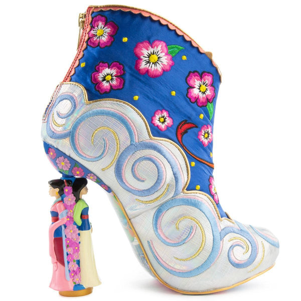 Disney's Mulan x Irregular Choice Be True to Who You Are Bootie