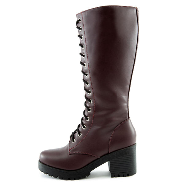 Canopy-S Lace-Up Combat Boots