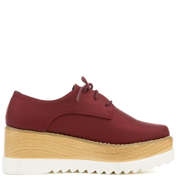 Cape Robbin Fara-2 Women's Wine Oxford