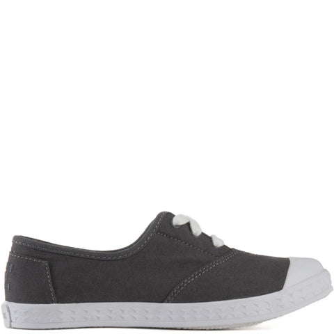 Toms for Kids: Zuma Grey Canvas Sneakers