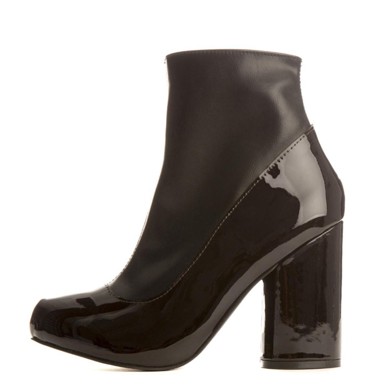 Jeffrey Campbell for Women: Sequel-2 Black Heel Booties