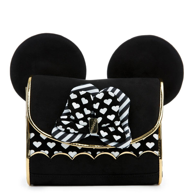Irregular Choice Mickey Mouse & Friends Collection Women's Love Minnie Black Bag