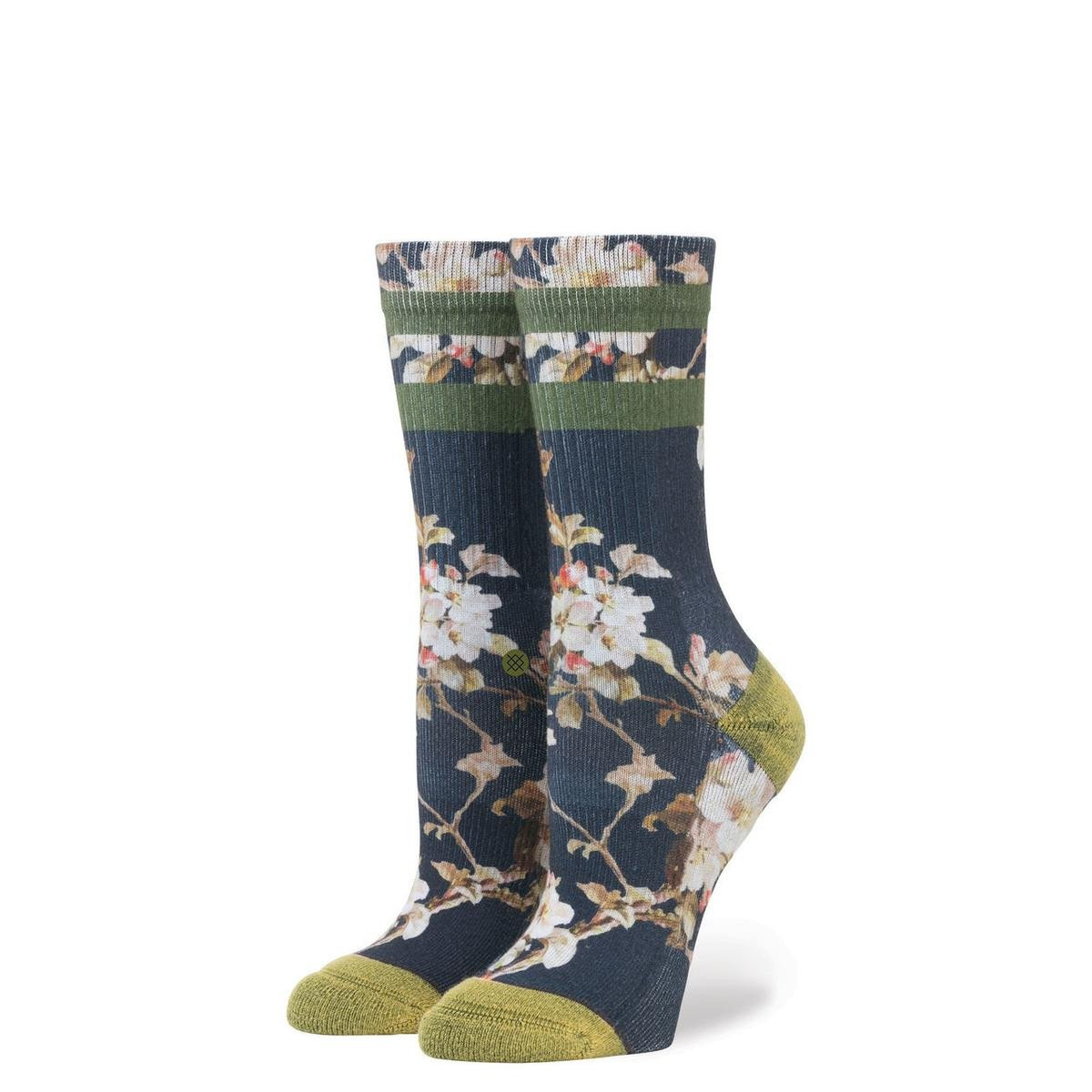 Stance for Women: Blossom Wall Navy
