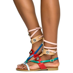 Cape Robbin Emily-63 Women's Multi Colored Sandals
