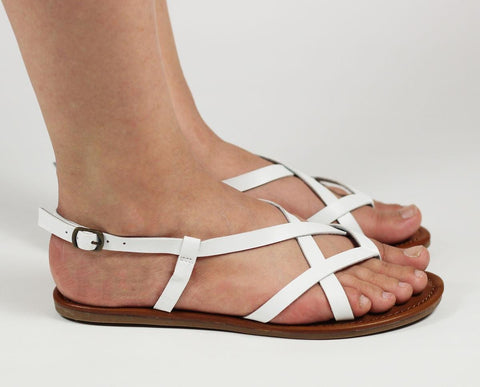 MIA for Women: Cruise White Vegan Sandal