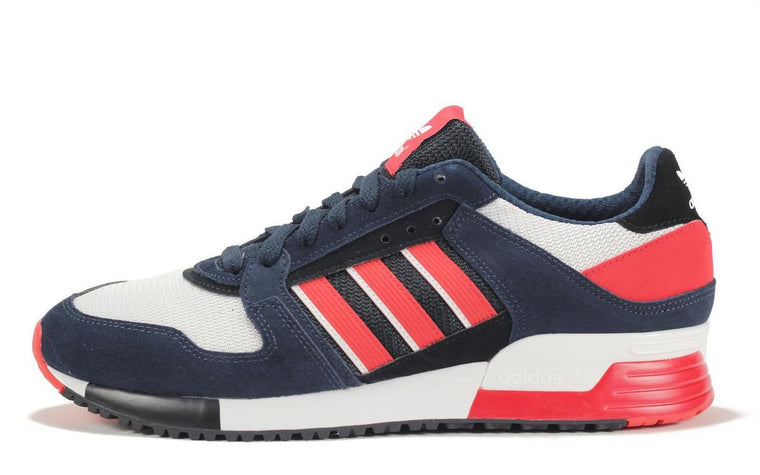 Adidas for Men: ZX630 Ink Red Black Sneaker