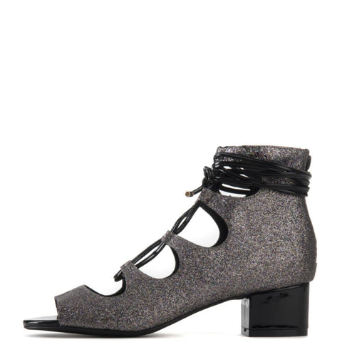 Jeffrey Campbell for Women: Astute Multi Lace-up Heel Booties
