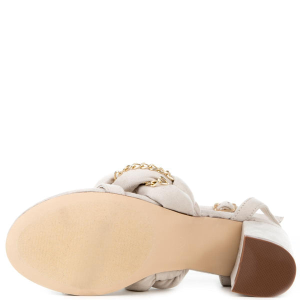 Cape Robbin Carrie-23 Women's Nude High Heels