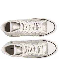 Converse for Women: Chuck Taylor All Star Silver Sequins Sneaker