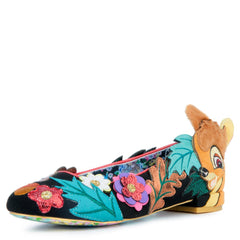Disney's Bambi x Irregular Choice Sweet Little Prince Flats