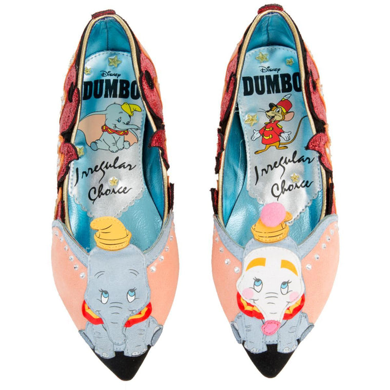 Disney's Dumbo x Irregular Choice Little Star Flats