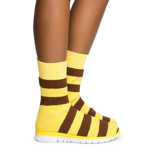 Cape Robbin Malee-1 Yellow Women's Sneaker