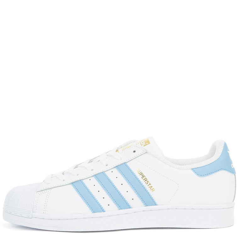 Unisex Superstar Foundation White/Blue Sneaker