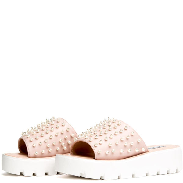 Cape Robbin Mandy-1 Pink Women's Slides