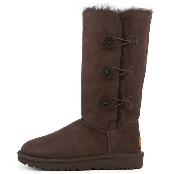 Women's Bailey Button Triplet II Chocolate Boots
