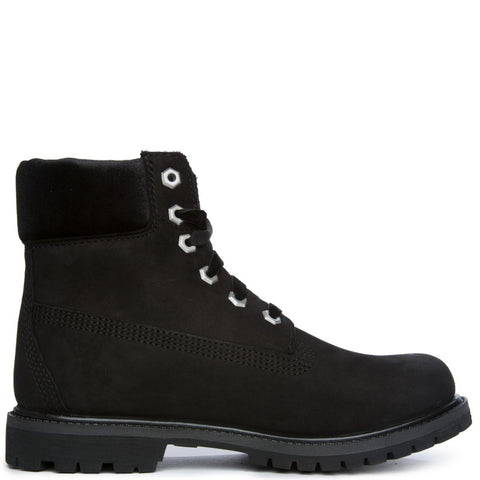 "Women's 6"" Premium Icon Black Boot"