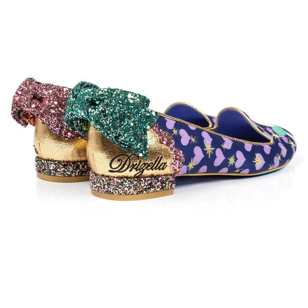 Irregular Choice Cinderella Collection: Ugly Sister Flats