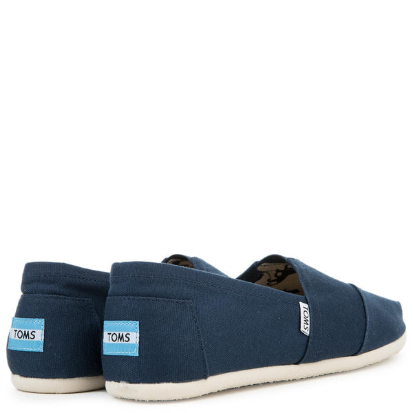 Toms Classic Navy Canvas Men's Flats