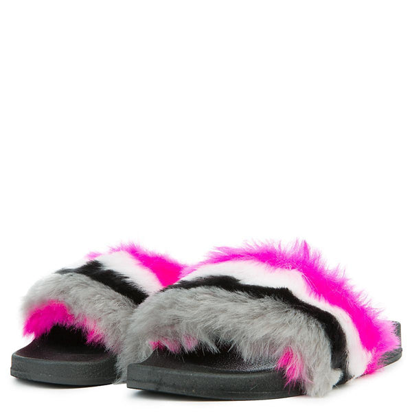 Women's Fur Slide