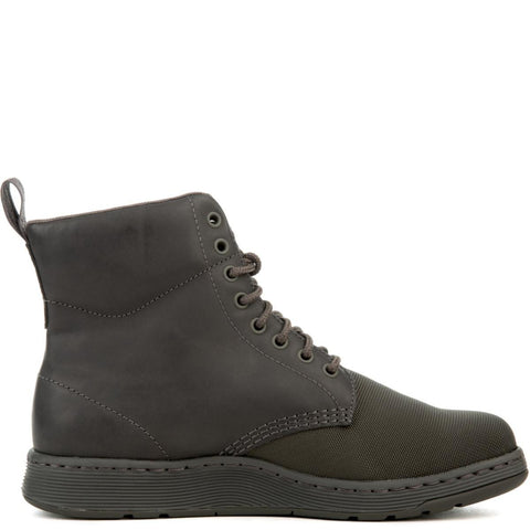 Dr. Martens Rigal Men's Mono Cdr Gun Grey Boots