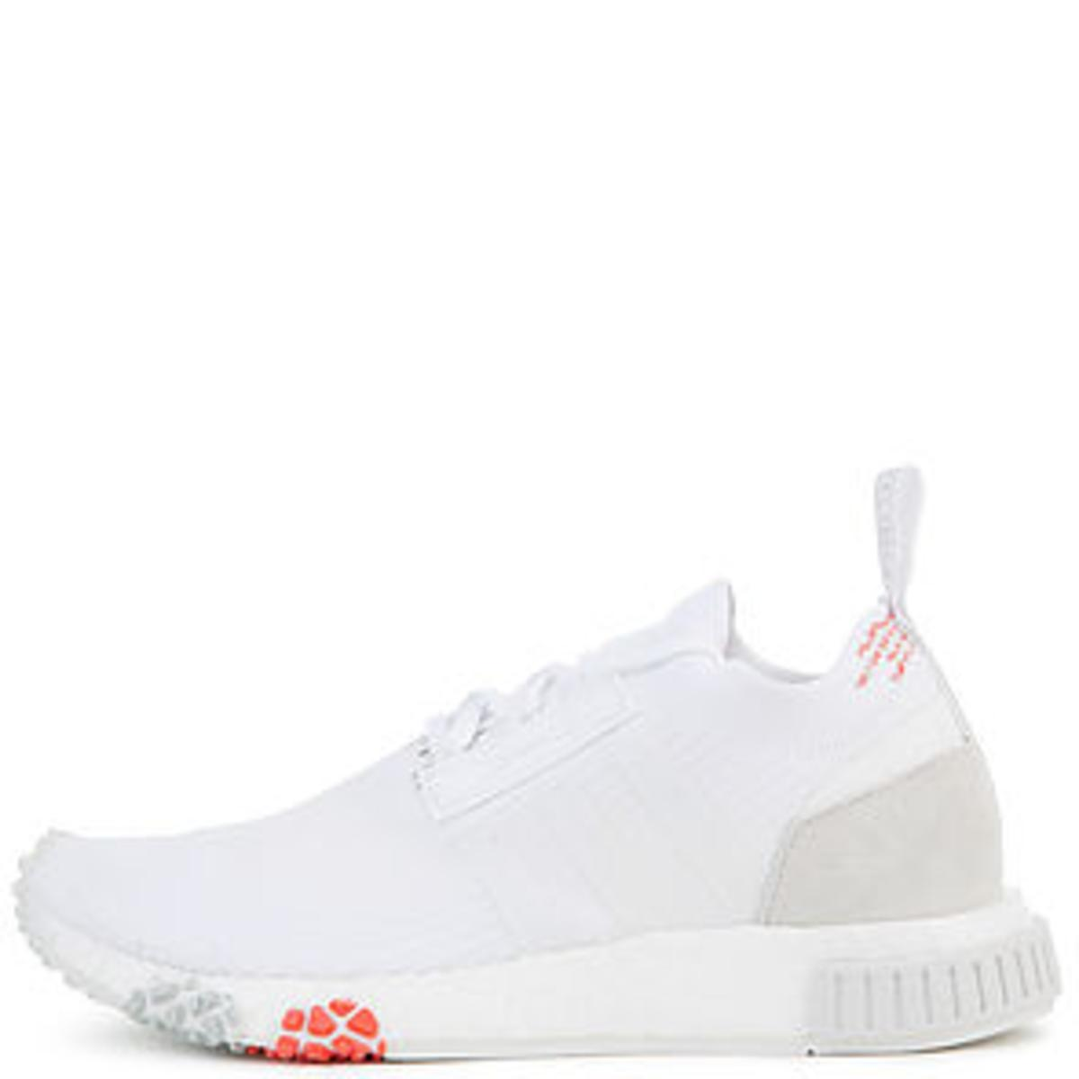 c1900f5be The Women s NMD Racer Primeknit in White and Trace Scarlet