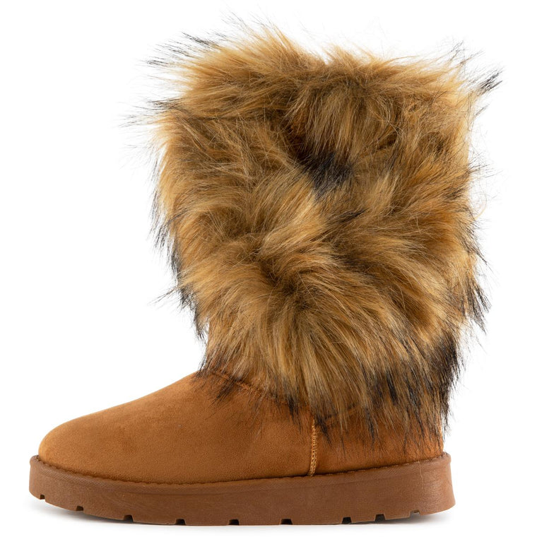 Ada Faux Fur Booties