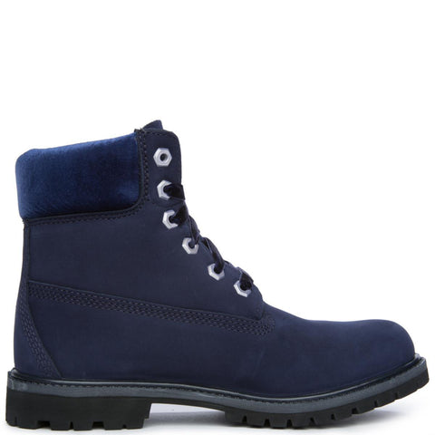 "Women's 6"" Premium Icon Dark Blue Boot"